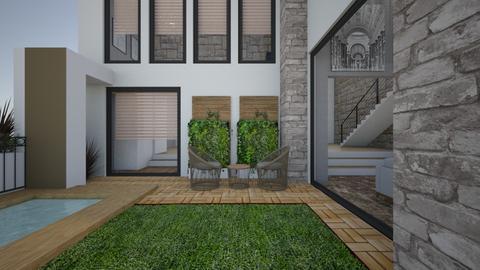 externe - Garden  - by Mounir HSSIN