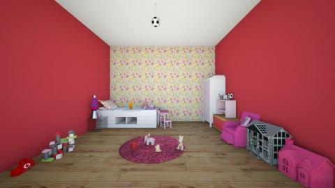 Taters room - Feminine - Bedroom - by PaytonLee15