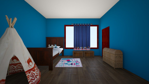 Wlaters room - Classic - Kids room  - by Emzy Designs
