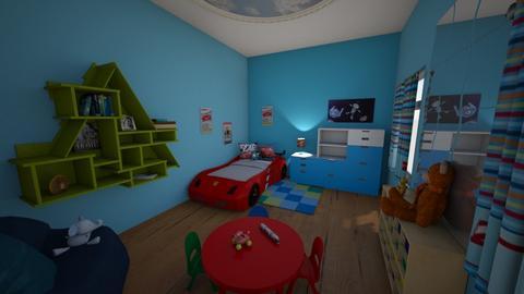 boys room - Kids room  - by sasha masson