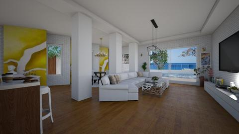 OKeeeffe living - Modern - Living room - by kristenaK