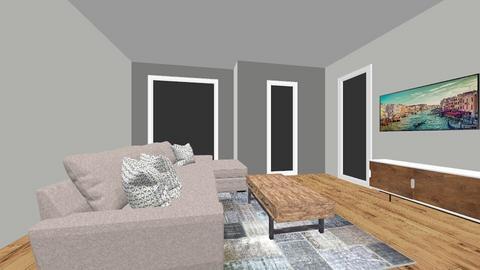 Huiskamer - Living room - by NielsVos1