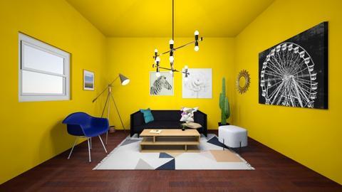 southwestern living room - Living room  - by Stella H