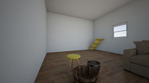 Buried Child Set Design - Living room  - by sholton