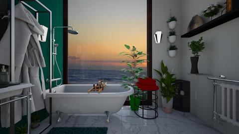 bath - Glamour - Bathroom  - by snezzza