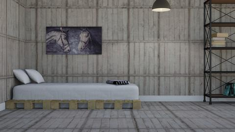 For KittyKat28 - Bedroom  - by designcat31