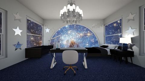 Galaxy room - Bedroom  - by awesomegirl89