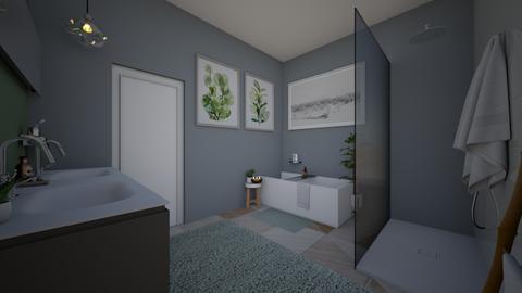 SAGE apartment  - Bathroom  - by t harv
