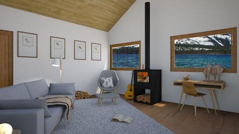 Cabin Contest_Nini_DRW_10 - Living room  - by Nini_DRW_10