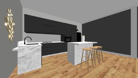 Kitchen - Retro - Kitchen  - by Febe00