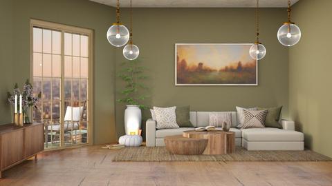 Light brown living - Country - Living room  - by Oyisha