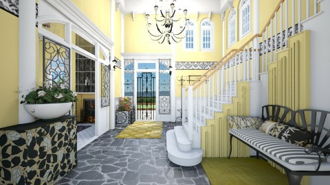 French Colonial - Classic - by Alexandra amyra
