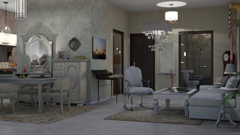 domestic elder care - Living room  - by nat mi