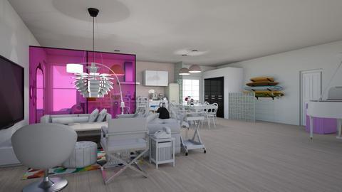 Home - Retro - Living room  - by AngieDrws