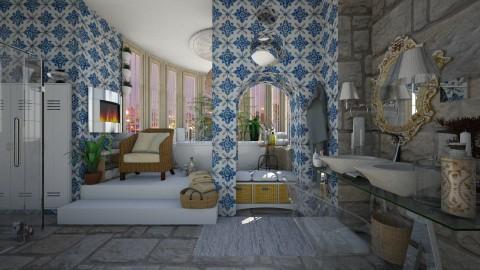 Moroccan vibe - Bathroom  - by Eleni Irini