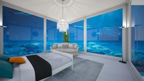Underwater room - Bedroom  - by AlphaWolfLil