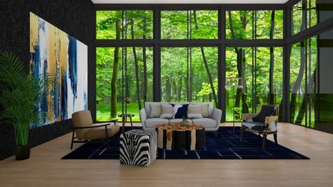 modern sunroom - Modern - Living room - by jammuek