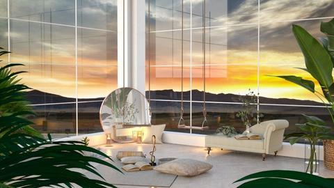 Relaxing area - Feminine - Living room  - by Meghan_and_Pheebs