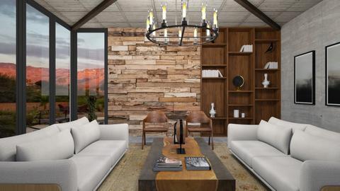 Wood wall - by rebsrebsmmg