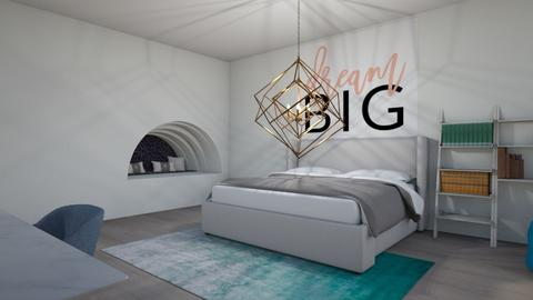Cool schemed room - Bedroom  - by LilLil