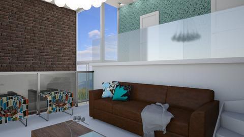 Splitlevel Home - Living room  - by maribeiro