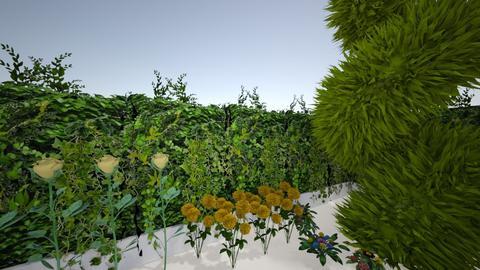 garden - Modern - Garden  - by lorevierose_art