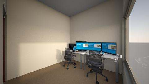 Gaming Room Initial - Modern - by keaton96
