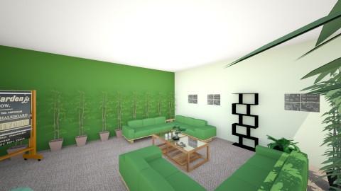 Biuro - Minimal - Office  - by asiasliwinska