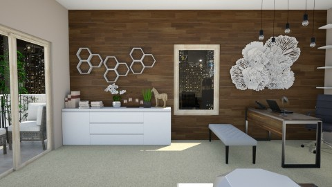 My Office - Modern - Office  - by Yana_Arsenyuk