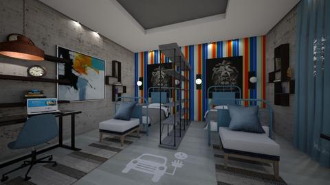Modern Kids - Modern - Kids room  - by Nikos Tsokos