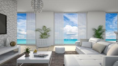 View Of The Sea - Modern - Living room  - by DeborahArmelin
