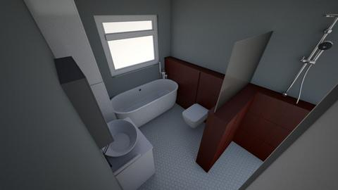 bathroom v6 - Bathroom  - by aledpc13