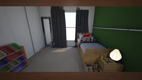 Gregs Room - Bedroom - by tashahadweh