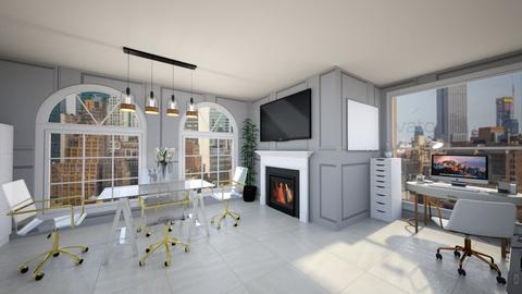 arh studio rend 99J - Modern - Office  - by Ana Malajmare