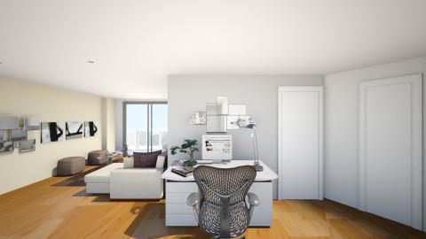 estudio 2 - Living room - by linamarias