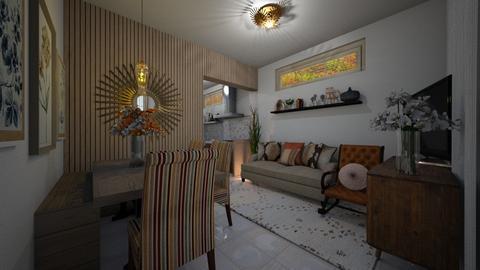 House - Living room  - by Maria Helena_215