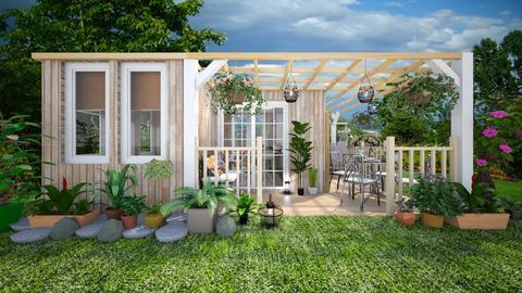 SummerHouse - Garden  - by Laurika