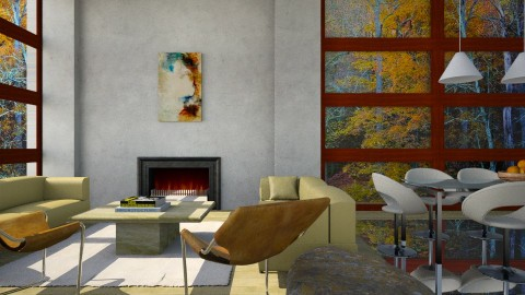 Willoughby - Modern - Living room  - by russ