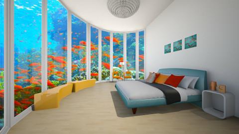 underwater  - Modern - Bedroom  - by jnd444