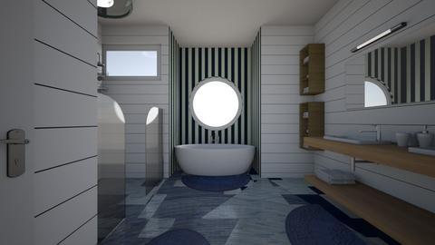 Nautical - Bathroom  - by AYessenia