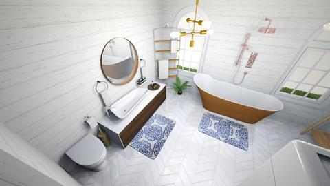 Tiny Home_Bathroom  - Eclectic - Bathroom - by hhall120197