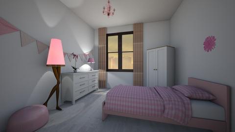 Pink - Feminine - Bedroom  - by Twerka