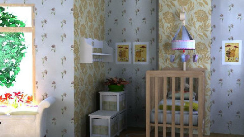 The Nursery - Kids room  - by ruthiec1