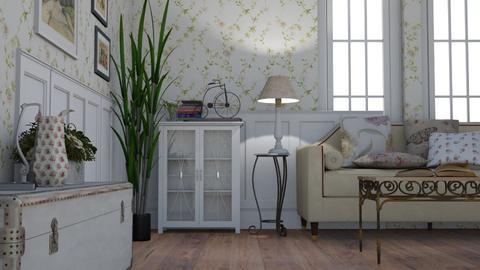 Vintage Rose - Vintage - Living room  - by LeilaniD04