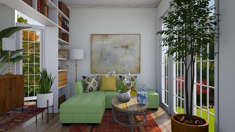 livingroom corner - Living room  - by sarasepideh