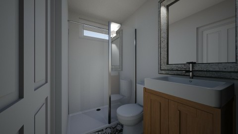 small master bath - Minimal - Bathroom - by Katrina Johnson