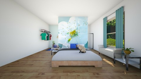 Blue Freshness - Bedroom - by jtvcoco