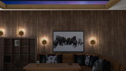 wood sky - Living room  - by Alba101