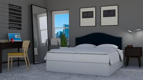 Loft llll - Bedroom - by lovedsign