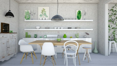 Lightly - Eclectic - Dining room  - by Laurika